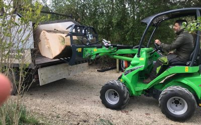 Our New Avant Loader. Saves Our Time And Your Money!